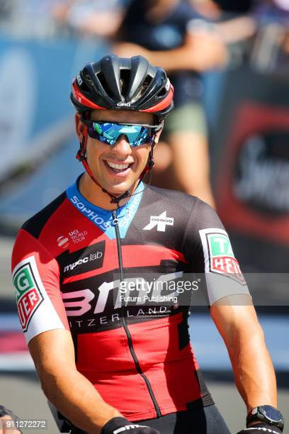 Richie Porte before the start of the 2018 Cadel Evans Great Ocean Road Race on January 28 2018 in Geelong Australia Chris Putnam / Barcroft Images...