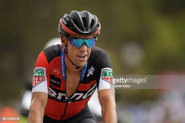 Richie Porte of Australia and BMC Racing Team competes during stage five of the 2018 Tour Down Under on January 20 2018 in Adelaide Australia