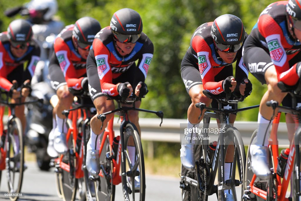 Richie Porte of Australia and BMC Racing Team / during the 105th Tour de France 2018, Stage 3 a 35,5km Team time trial stage / TTT / from Cholet to Cholet / TDF / on July 9, 2018 in Cholet, France.