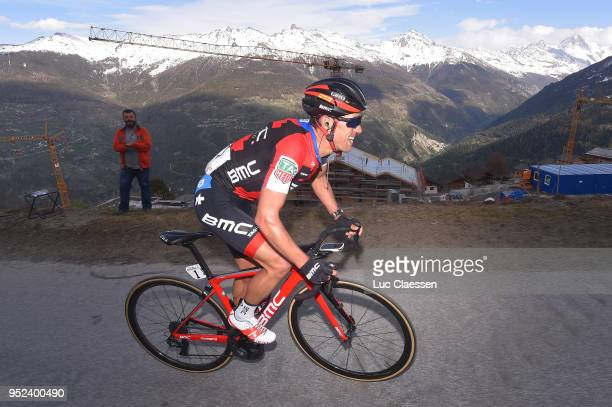 Richie Porte of Australia and BMC Racing Team / during the 72nd Tour de Romandie 2018 Stage 4 a 1492km stage from Sion to Sion on April 28 2018 in...