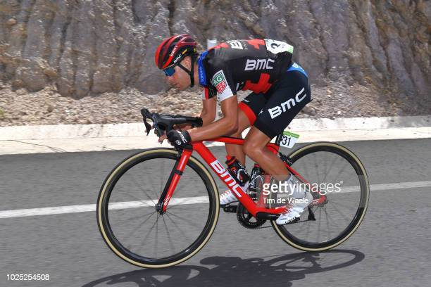 Richie Porte of Australia and BMC Racing Team / during the 73rd Tour of Spain 2018 Stage 6 a 1557km stage from HuercalOvera to San Javier Mar Menor /...
