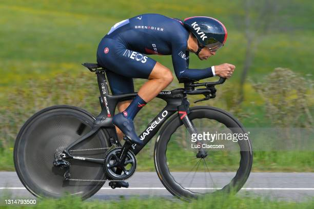 Richie Porte of Australia and Team INEOS Grenadiers during the 74th Tour De Romandie 2021, Prologue a 4,05km Individual Time Trial stage from Oron to...