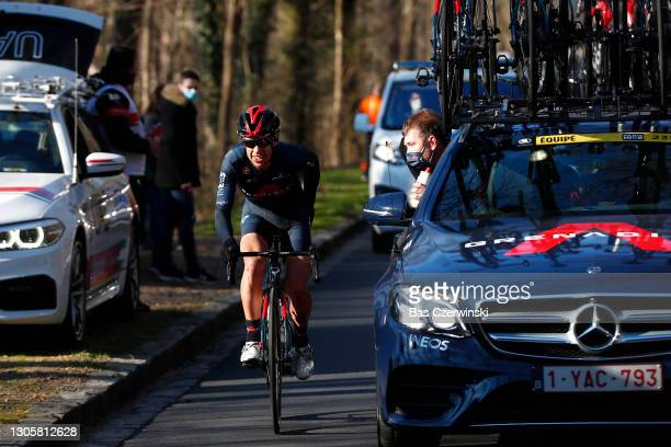 Richie Porte of Australia and Team INEOS Grenadiers during the 79th Paris - Nice 2021, Stage 1 a 166km stage from Saint-Cyr-l'Ecole to...