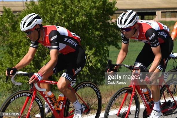 Richie Porte of Australia and Team Trek Segafredo / Peter Stetina of The United States and Team Trek Segafredo / during the 99th Volta Ciclista a...