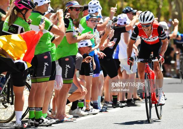 Richie Porte of Australia and Team Trek-Segafredo competes during the 21st Santos Tour Down Under 2019, Stage 6 a 151,5km stage from McLaren Vale to...