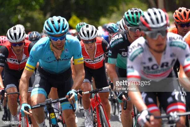 Richie Porte of Australia and Team TrekSegafredo / during the 21st Santos Tour Down Under 2019 Stage 3 a 1462km stage from Lobethal to Uraidla / TDU...