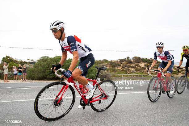 Richie Porte of Australia and Team Trek-Segafredo / during the 22nd Santos Tour Down Under 2020, Stage 6 a 151,5km stage from McLaren Vale to...