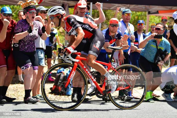 Richie Porte of Australia and Team Trek-Segafredo / Fans / Public / during the 21st Santos Tour Down Under 2019, Stage 6 a 151,5km stage from McLaren...