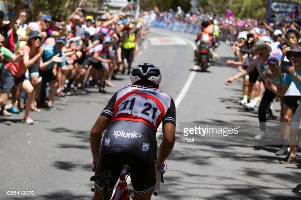 Richie Porte of Australia and Team Trek-Segafredo / Willunga Hill / Fans / Public / during the 21st Santos Tour Down Under 2019, Stage 6 a 151,5km...