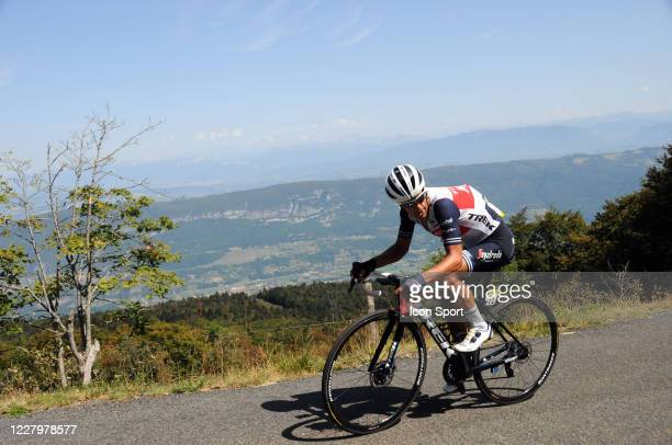 Richie Porte of Trek - Segafredo. During the Tour de l'Ain - stage 3 from Saint Vulbas to Grand Colombier on August 9, 2020 in UNSPECIFIED,...