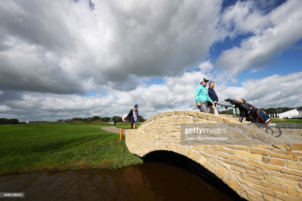 Richie Ramsay of Scotland is pictured during the European Tour KLM Open ProAM held at The Dutch on September 13, 2017 in Spijk, Netherlands.