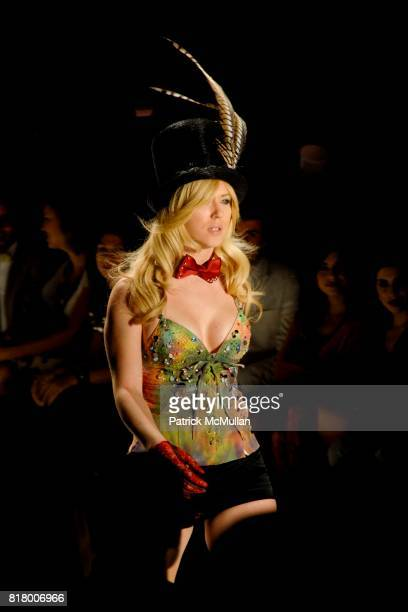 Richie Rich 2011 Fashion Show at The Studio at Lincoln Center on September 9 2010 in New York City