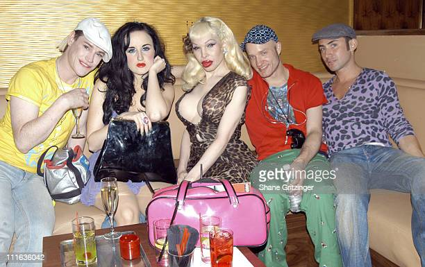 Richie Rich Aimee Phillips Amanda Lepore Cazwell and Joseph Israel