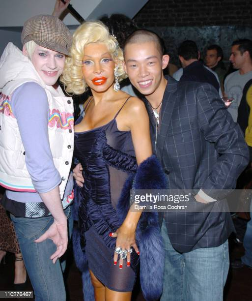 Richie Rich Amanda Lepore and Jason Wu during The Gastineau Girl Limited Edition Designer Doll Collection Unveiling at Sapa in New York City New York...