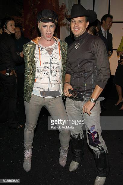 Richie Rich and Traver Rains attend SWAROVSKI hosts a party to present their POETIC NIGHT Collection at The Rink at Rockefeller Center on May 3 2006...