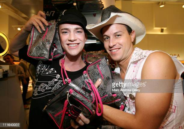 Richie Rich and Traver Rains of Heatherette during VH1 Save The Music Foundation A Rockin' Evening of Shopping at Sephora in New York New York United...
