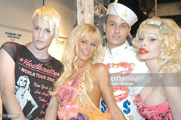 Richie Rich Paris Hilton Traver Rains and Amanda Lepore