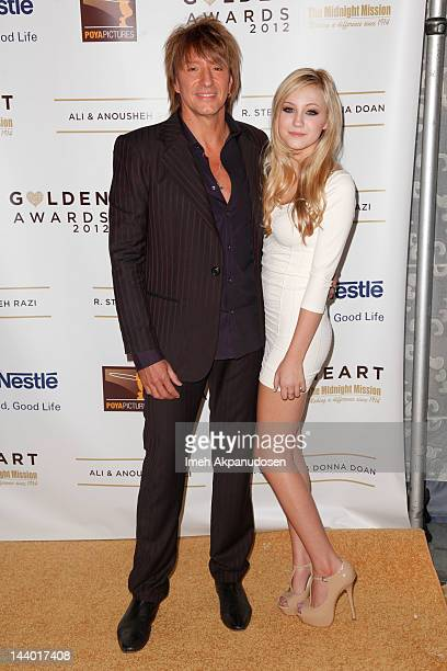 Richie Sambora and daughter Ava Sambora attend the 12th Annual Golden Heart Awards Gala at the Beverly Wilshire Four Seasons Hotel on May 7, 2012 in...