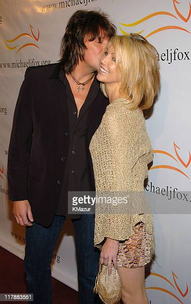 Richie Sambora and Heather Locklear during 'A Funny Thing Happened on the Way to Cure Parkinson's' A Benefit Evening for the Michael J Fox Foundation...