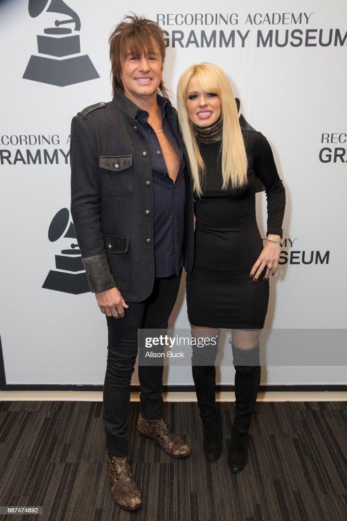 Richie Sambora and Orianthi attend The Drop: