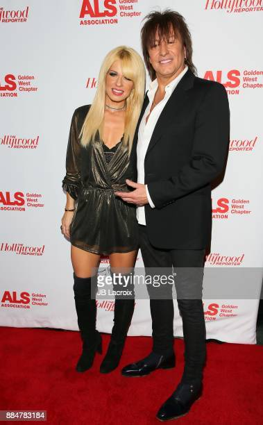 Richie Sambora and Orianthi Panagaris attend the ALS Golden West Chapter Hosts Champions for Care and a cure on December 02 2017 in Los Angeles...