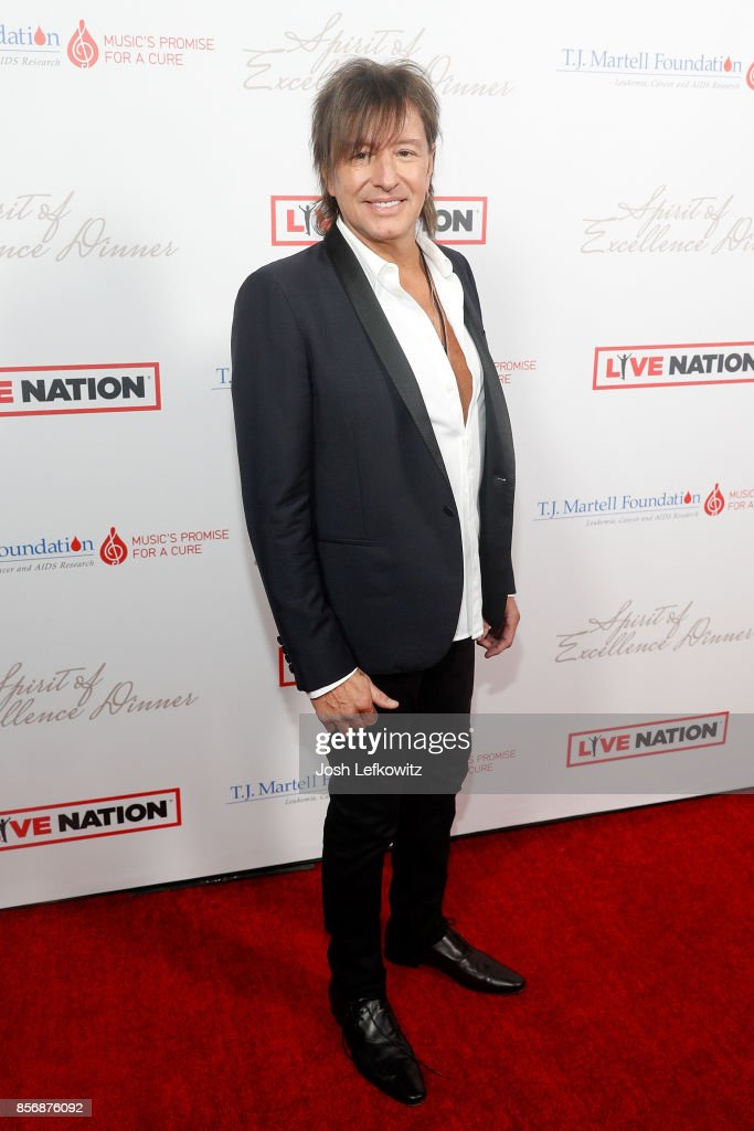 Richie Sambora attends the T.J. Martell Foundation's Spirit of Excellence dinner at the Luxe Sunset Boulevard Hotel on October 2, 2017 in Beverly Hills, California.