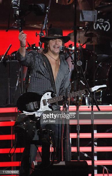 Richie Sambora during Bon Jovi 'Have A Nice Day Tour' at Tokyo Dome April 9 2006 at Tokyo Dome in Tokyo Japan