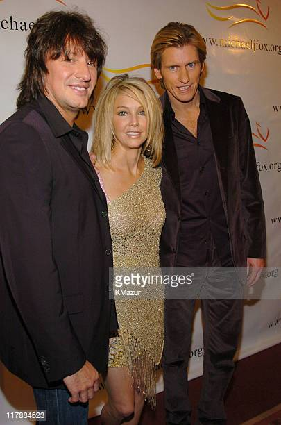 Richie Sambora Heather Locklear and Denis Leary during 'A Funny Thing Happened on the Way to Cure Parkinson's' A Benefit Evening for the Michael J...
