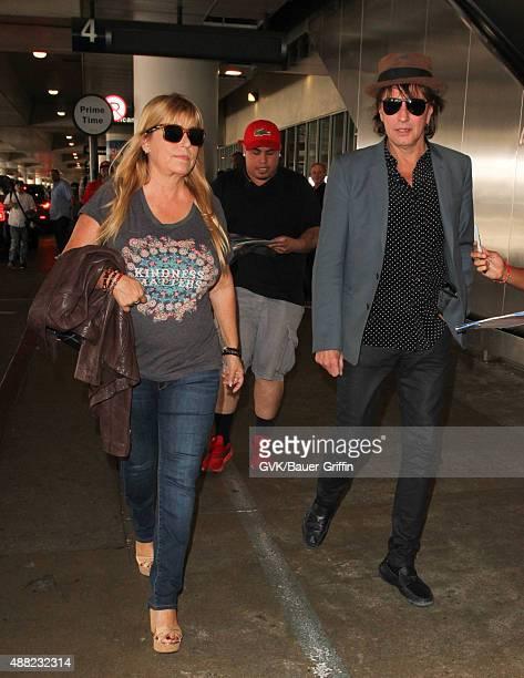 Richie Sambora is seen at LAX on September 14 2015 in Los Angeles California