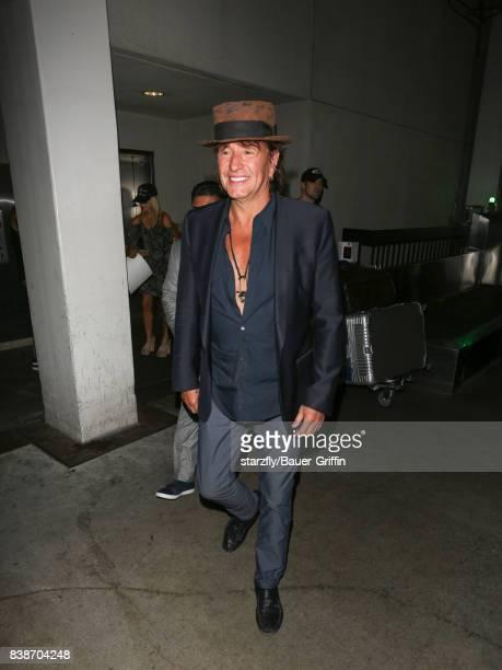 Richie Sambora is seen at Los Angeles International Airport on August 24 2017 in Los Angeles California