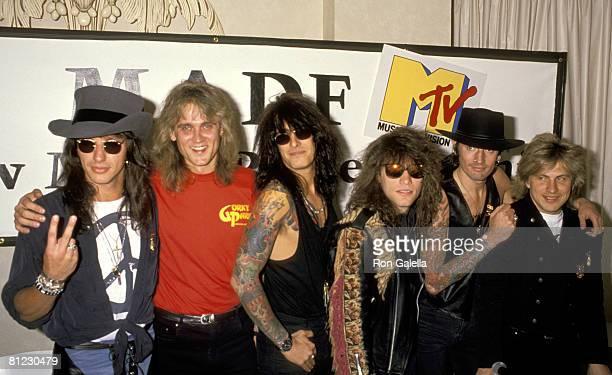 Richie Sambora Jon Bon Jovi Tommy Lee of Motley Crue Scorpions and Gordy Park
