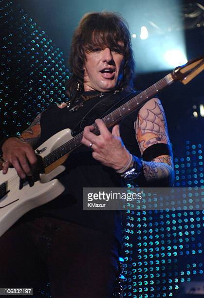 Richie Sambora of Bon Jovi during AEG LIVE Presents Bon Jovi 'Have A Nice Day' Album Release Party and Performance at The New Nokia Theatre in Times...