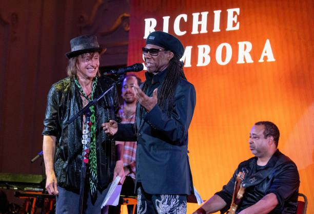 GBR: Richie Sambora & Nile Rogers Performs At Bush Hall In Shepherd's Bush