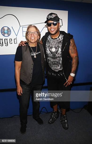 Richie Supa and Flo Rida attend Recovery Unplugged on November 22, 2016 in Fort Lauderdale, Florida.