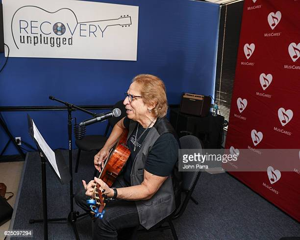 Richie Supa performs at a special event at the Recovery Unplugged Treatment Center for MusiCares on November 22, 2016 in Fort Lauderdale, Florida.