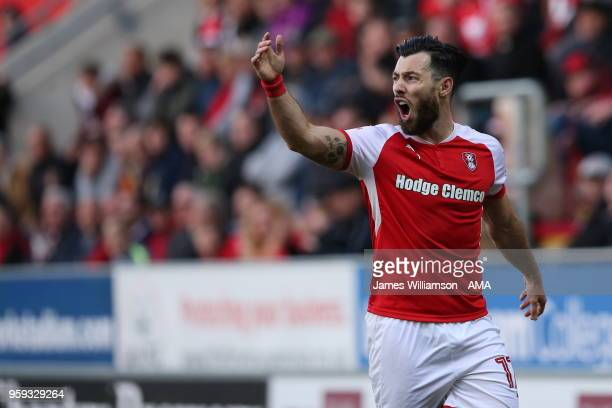 Richie Towell of Rotherham United during the Sky Bet League One Play Off Semi FinalSecond Leg between Rotherham United and Scunthorpe United at The...