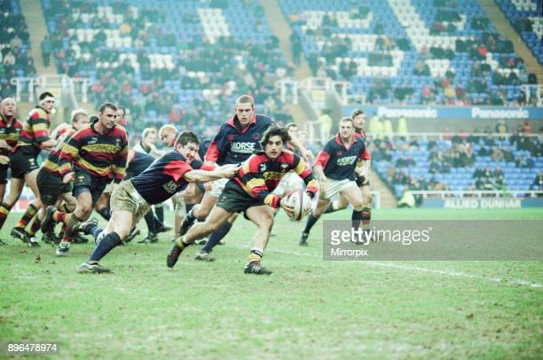 Richmond 4022 London Scottish English Rugby Union Premiership match at the Madejski Stadium Reading Saturday 23rd January 1999