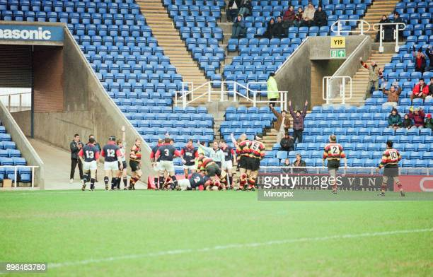 Richmond 40-22 London Scottish, English Rugby Union Premiership match at the Madejski Stadium, Reading, Saturday 23rd January 1999.