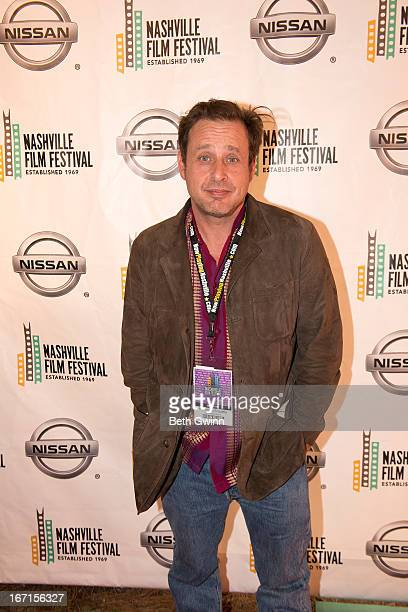Richmond Arquette of the film This is Martin Bonner attends the 2013 Nashville film festival at Green Hills Regal Theater on April 21 2013 in...