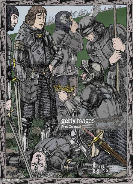 Richmond at Bosworth 1902 Battle of Bosworth Field 22 August 1485 Richard III last Yorkist king of England from 1483 Richard was killed on the...