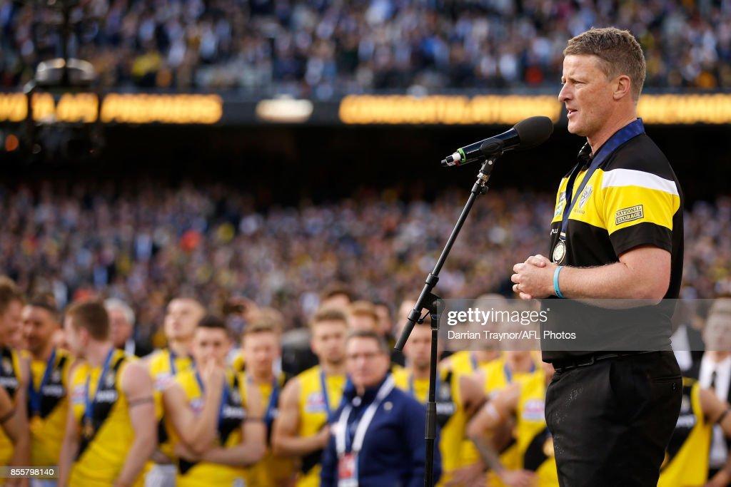2017 AFL Grand Final - Adelaide v Richmond : News Photo