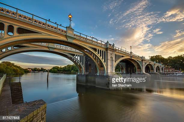 Richmond Lock at dawn