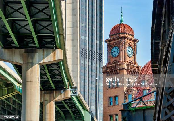 richmond - new and old - richmond virginia stock pictures, royalty-free photos & images