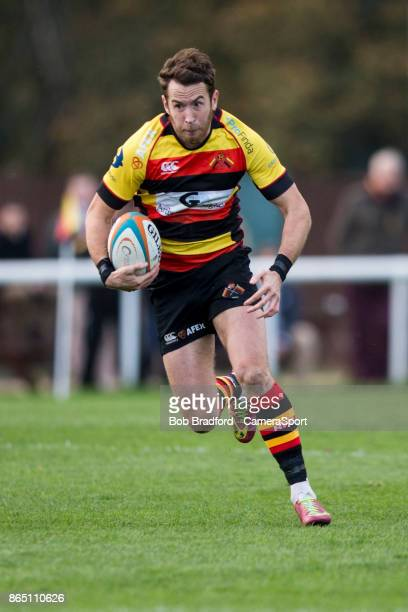 Richmond Rugbys Rob Kirby in action during todays match during the British Irish Cup Pool 4 match between Richmond and Rotherham Titans at The...