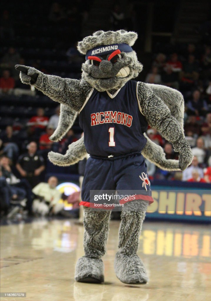 Richmond Spiders Mascot During The Game Between The Vanderbilt News Photo Getty Images