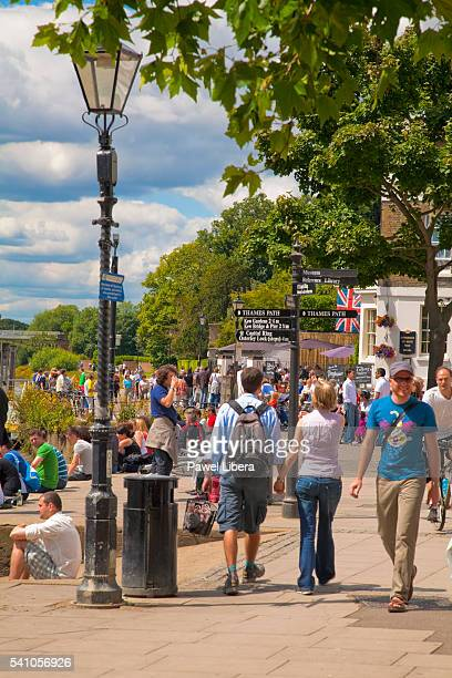 richmond town centre, london - richmond upon thames stock pictures, royalty-free photos & images