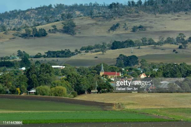 richmond town tasmania australia - rafael ben ari stock pictures, royalty-free photos & images