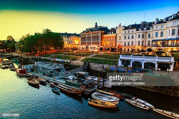 richmond upon thames, london - richmond upon thames stock pictures, royalty-free photos & images