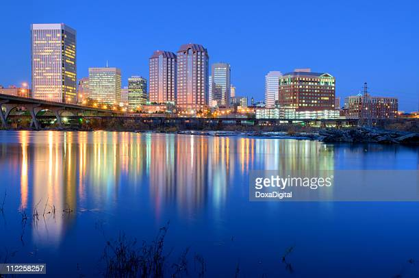 richmond, va hdr - richmond stock pictures, royalty-free photos & images