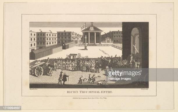 Rich's Glory or His Triumphant Entry into Covent Garden December 1732 November 1 1809 Artist Thomas Cook